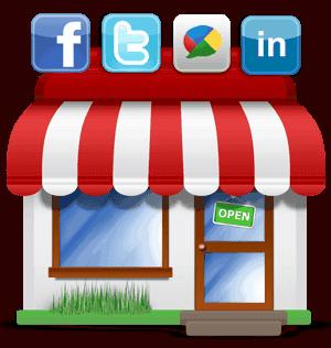 small store social media