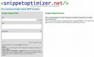 snipper optimizer herramienta
