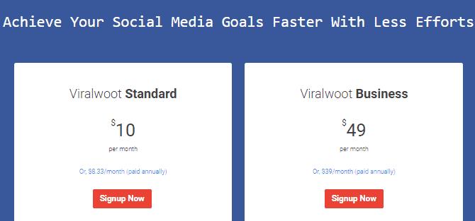 Viralwoot price