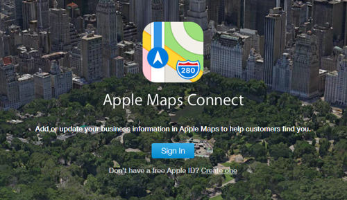 como añadir mi negocio en apple maps