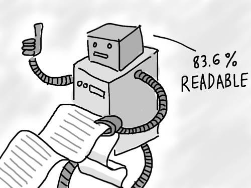 robot legilidad