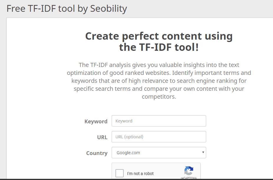 seobility tool