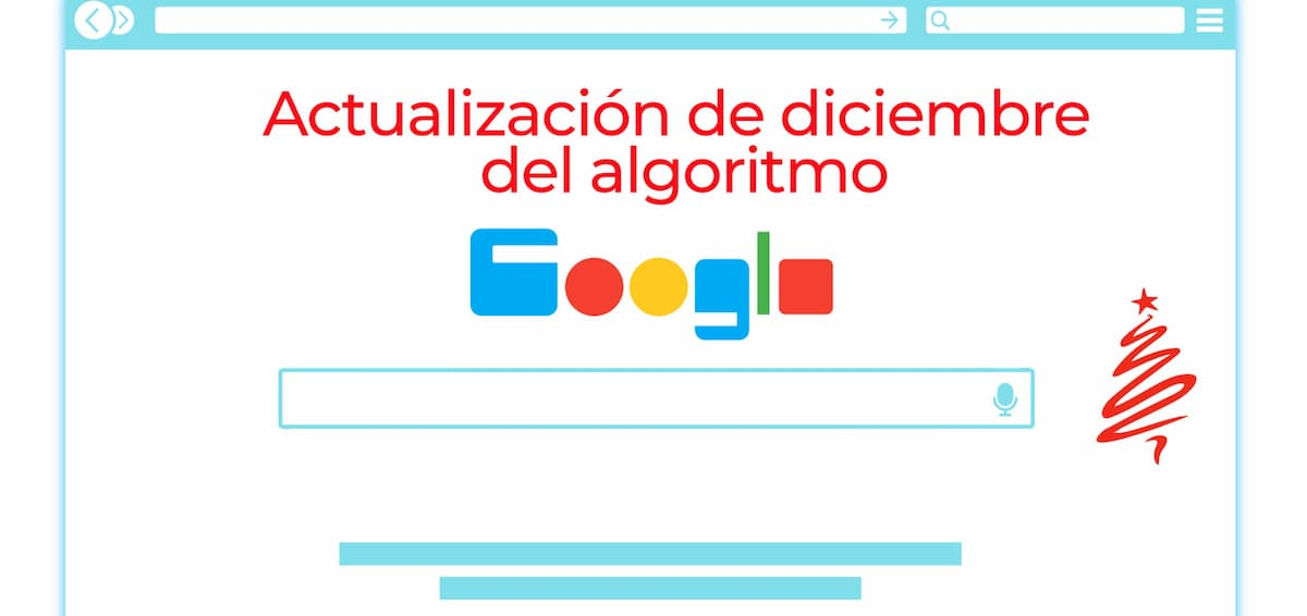 actualización de diciembre del algoritmo de Google