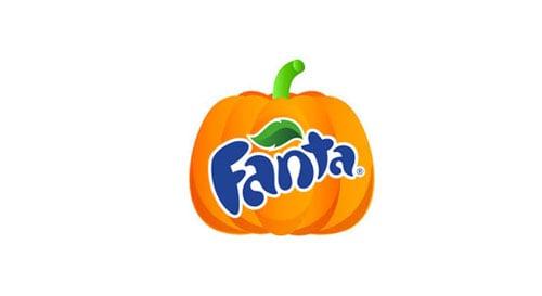 Logo Fanta Halloween